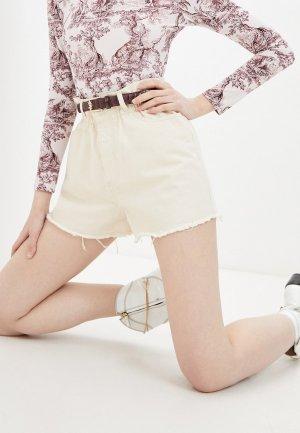Шорты джинсовые Forte Dei Marmi Couture. Цвет: бежевый