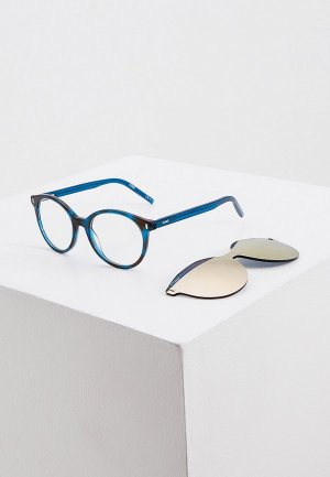 Очки солнцезащитные Hugo. Цвет: бирюзовый