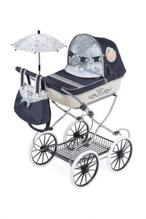 Коляска с сумкой и зонтиком DECUEVAS. Цвет: синий