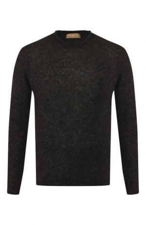 Джемпер из смеси шерсти и хлопка Daniele Fiesoli. Цвет: темно-серый