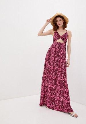 Платье пляжное Maaji. Цвет: фиолетовый