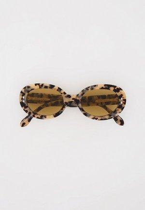Очки солнцезащитные Isabel Marant. Цвет: бежевый