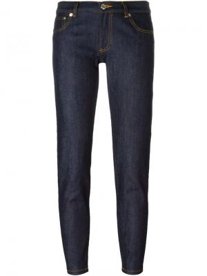 Зауженные джинсы A.P.C.. Цвет: синий