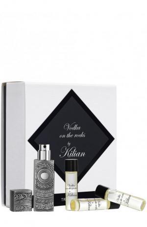 Набор для путешествия парфюмерная вода Vodka On  Rocks Kilian. Цвет: бесцветный