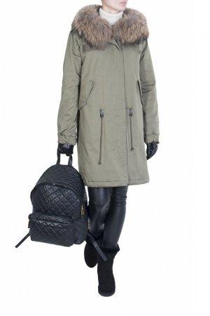 Куртка Marco Del Forte. Цвет: зеленый