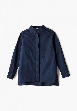 Рубашка Fridaymonday. Цвет: синий