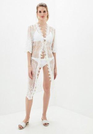Платье пляжное Milonga. Цвет: белый