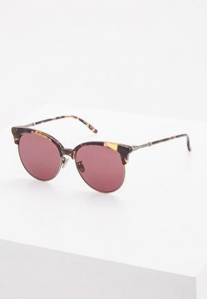 Очки солнцезащитные Bottega Veneta. Цвет: коричневый