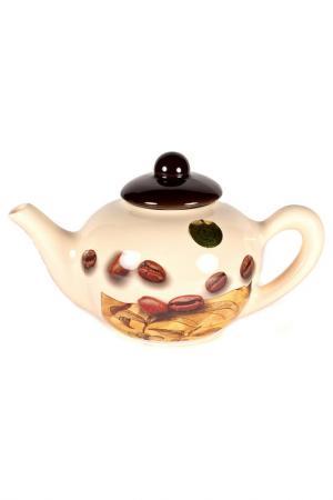 Чайник заварочный 0,7 л Sestesi. Цвет: бежевый