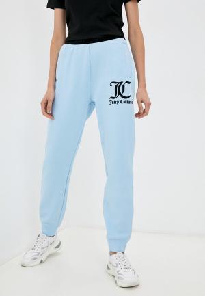 Брюки спортивные Juicy Couture. Цвет: голубой