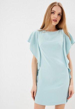Платье Lauren Ralph. Цвет: бирюзовый