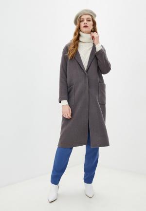 Пальто Blugirl Folies. Цвет: серый