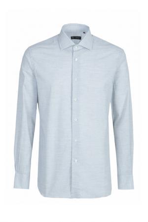 Рубашка CORNELIANI. Цвет: серый