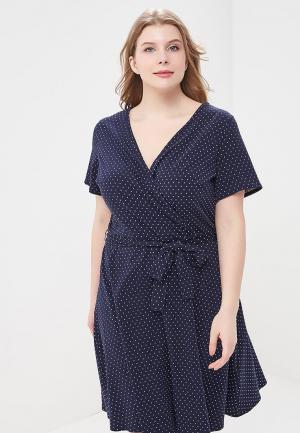 Платье Dorothy Perkins Curve. Цвет: синий