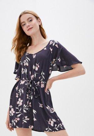 Платье Billabong. Цвет: синий