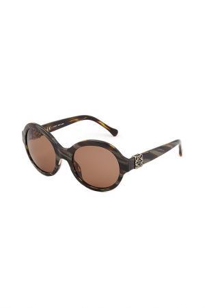 Очки солнцезащитные LOEWE. Цвет: черепаховый