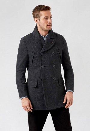 Полупальто Burton Menswear London. Цвет: серый