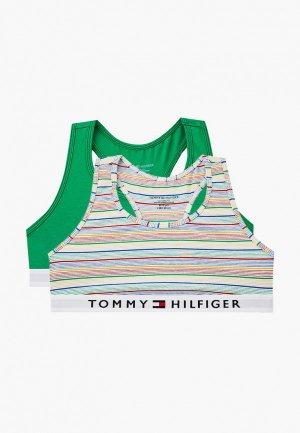 Топы 2 шт. Tommy Hilfiger. Цвет: разноцветный