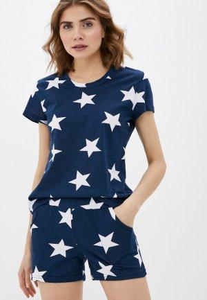 Пижама Dansanti. Цвет: синий