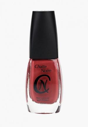 Лак для ногтей Chatte Noire. Цвет: розовый