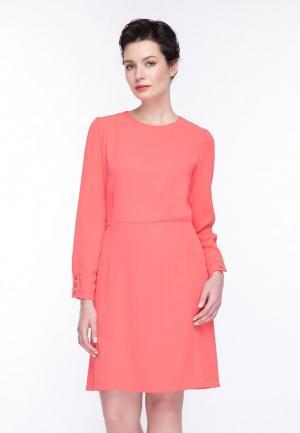 Платье Gregory. Цвет: коралловый