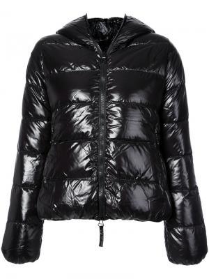 Дутая куртка Thia Duvetica. Цвет: чёрный