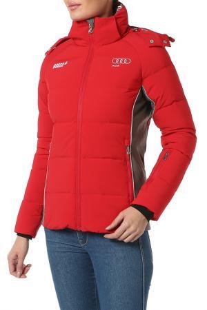 Куртка пуховая BOSCO. Цвет: красный