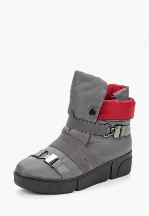 Ботинки Finn Line. Цвет: серый