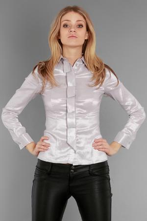 Блуза Александра Kristina. Цвет: светло-серый