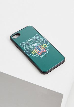 Чехол для iPhone Kenzo. Цвет: зеленый