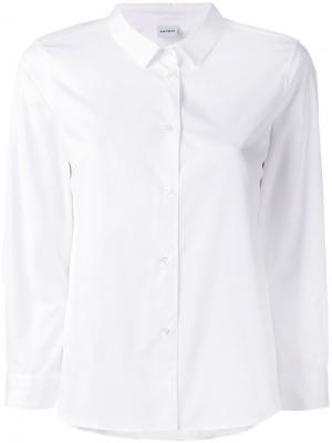 Рубашка с укороченными рукавами Aspesi. Цвет: белый