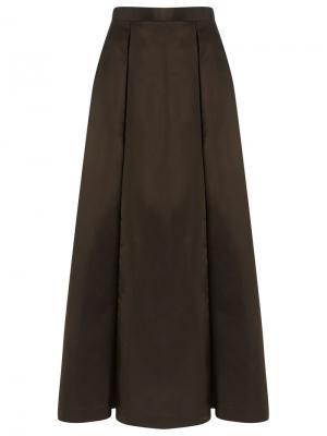 Длинная юбка Gloria Coelho. Цвет: коричневый