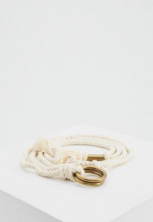 Пояс Polo Ralph Lauren. Цвет: белый