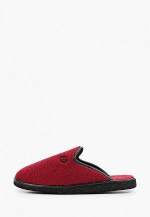 Тапочки Costa. Цвет: бордовый