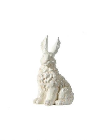 Фигурка Кролик 32x19x36 см ГЛАСАР. Цвет: белый