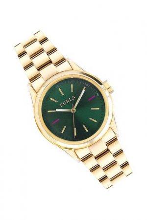 Наручные часы FURLA. Цвет: золотистый