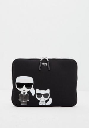 Чехол для ноутбука Karl Lagerfeld. Цвет: черный