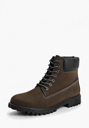 Ботинки LumberJack. Цвет: хаки