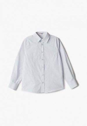 Рубашка Button Blue. Цвет: серый