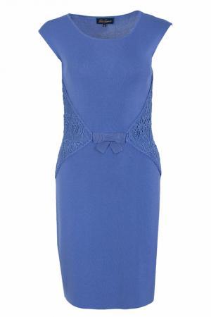 Платье Luisa Spagnoli. Цвет: фиолетовый