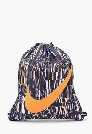 Мешок Nike. Цвет: разноцветный