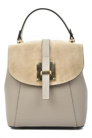 Backpack CARLA FERRERI. Цвет: beige