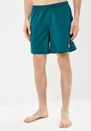 Шорты для плавания DC Shoes. Цвет: зеленый