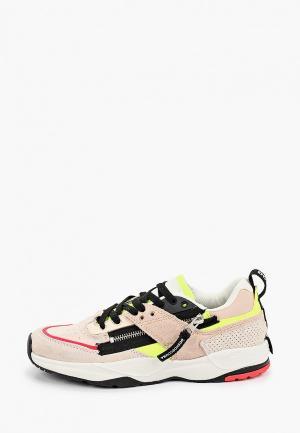 Кроссовки DC Shoes. Цвет: розовый