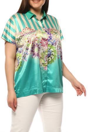 Блуза BASLER. Цвет: бежевый