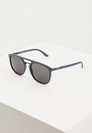 Очки солнцезащитные Giorgio Armani. Цвет: синий