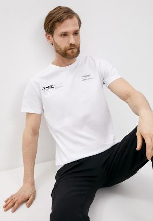 Футболка Aston Martin Racing by Hackett. Цвет: белый