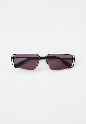 Очки солнцезащитные McQ Alexander McQueen. Цвет: черный