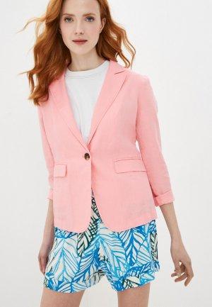 Пиджак United Colors of Benetton. Цвет: розовый