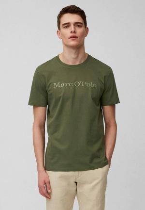 Футболка Marc OPolo O'Polo. Цвет: зеленый